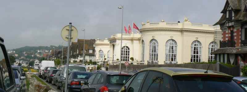 seafront Deauville Normandy