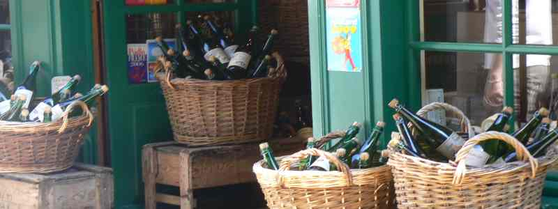 Wine shop Normandy