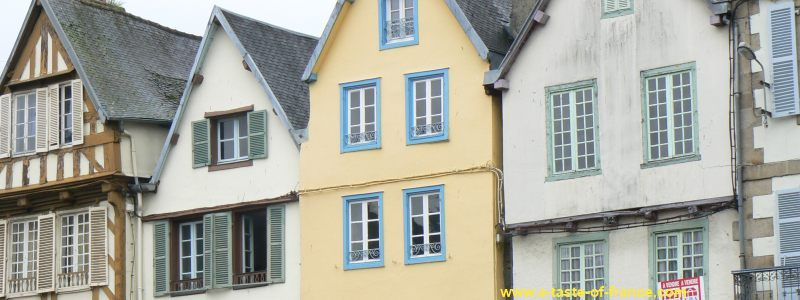 Morlaix houses