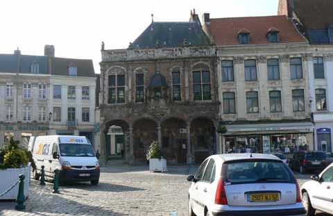 Town hall Aire sur la Lys