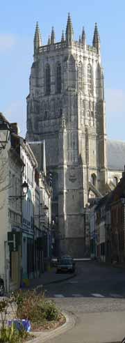 Aire sur la Lys church