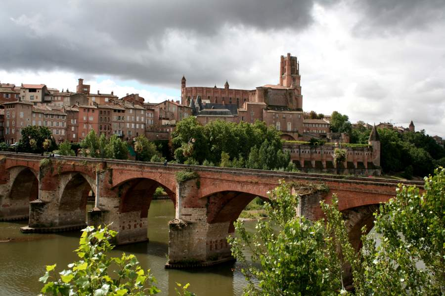 The town of Albi