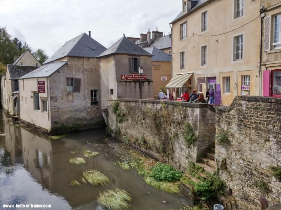 River Aure at Bayeux