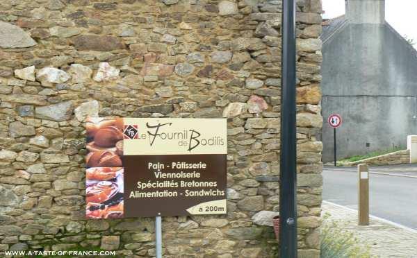 Bodilis bread shop  Brittany