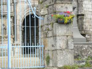 Bodilis old church Brittany