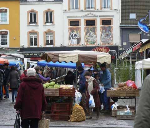 Boulogne sur mer market