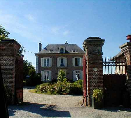 Brailly village France