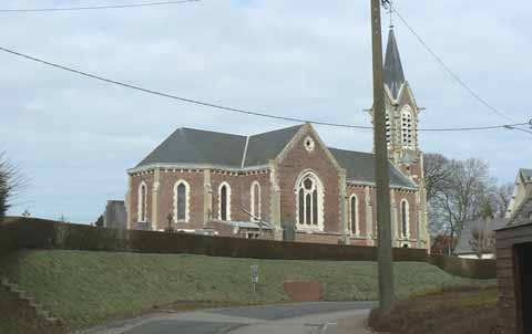 Bremes les Ardres church