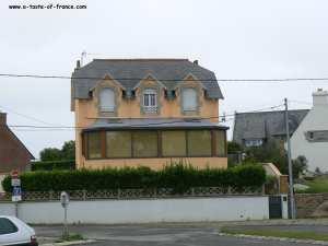 house inBrignogan plages Brittany