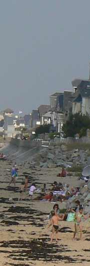 Carolles Plage beach