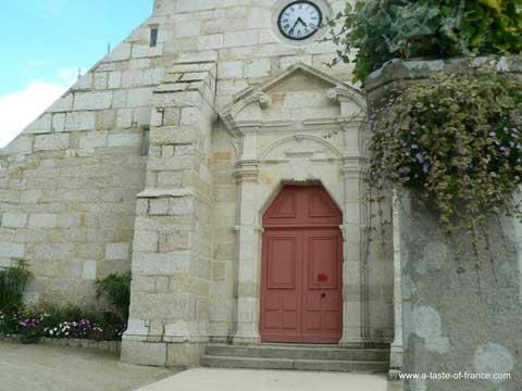 Combrit Sainte Marine church Brittany