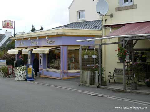 Combrit Sainte Marine shop  Brittany