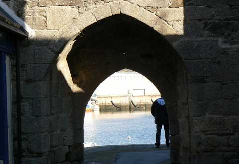 Concarneau wine gate Brittany
