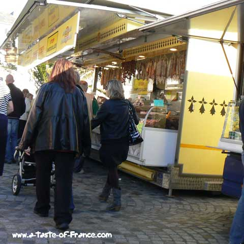 Concarneau market Brittany