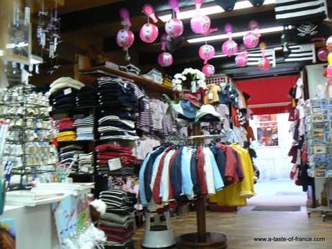 Concarneau shop Brittany