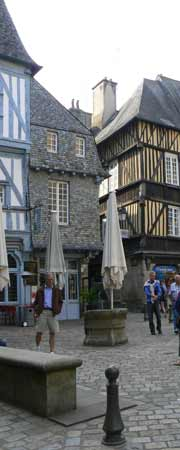 Dinan Brittany street