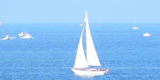 Dinard bay Brittany