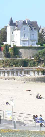 Dinard beach