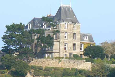 Dinard house Brittany