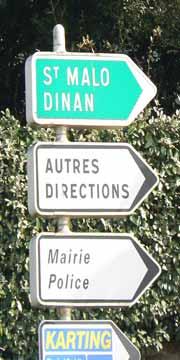 Dinard sign