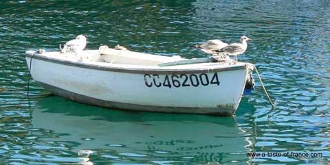 Doelan boat Brittany