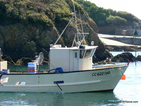 Fishing boat Brittany