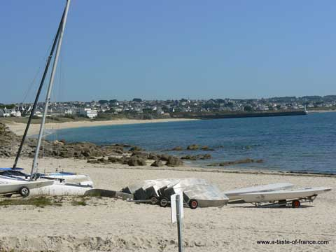 Esquibien beach Brittany