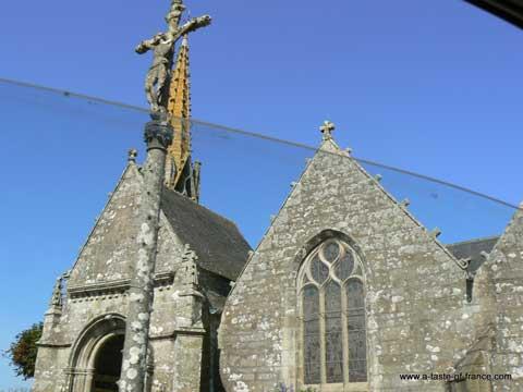 Esquibien church Brittany