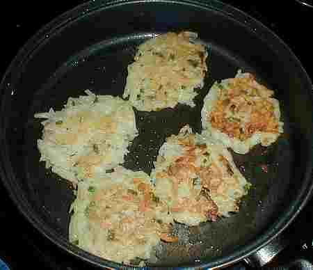 French potato cakes recipe