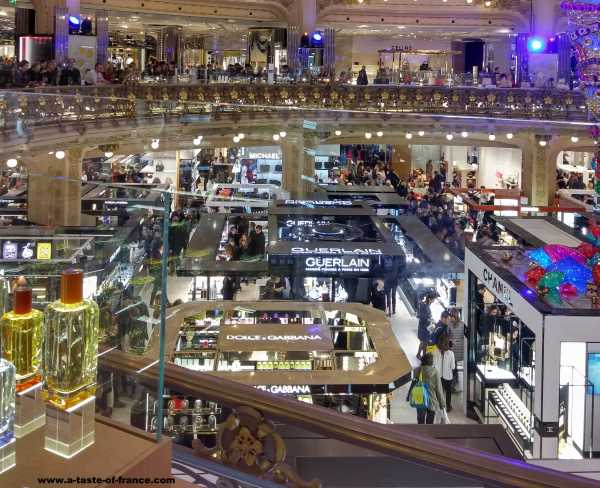 Galeries Lafayette Paris France picture 2