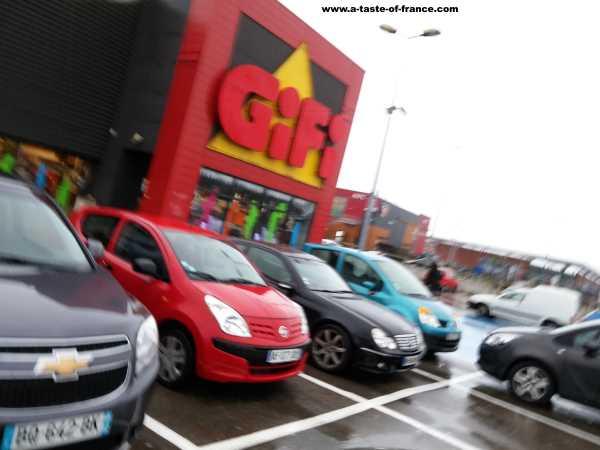 Gifi discount shop picture