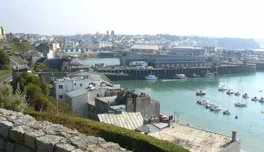 Granville harbour photo gallery Normandy