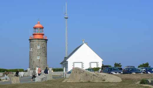 Granville light house Normandy