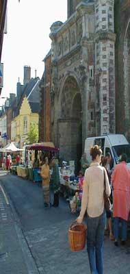 Hesdin street market