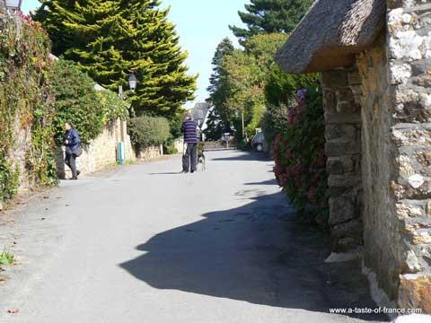 Kerascoet street Brittany