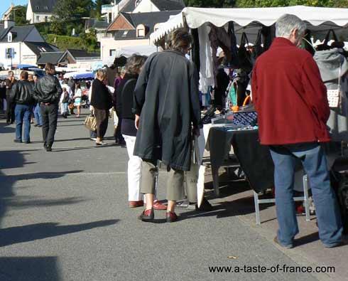 La Foret Fouesnant market  France