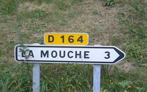 La Mouche manche Normandy