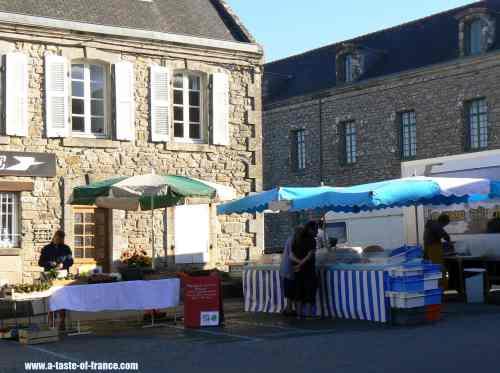 Locronan market France