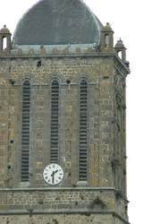 Montmartin sur Mer church tower