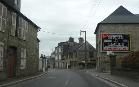 Mortain Manche Normandy