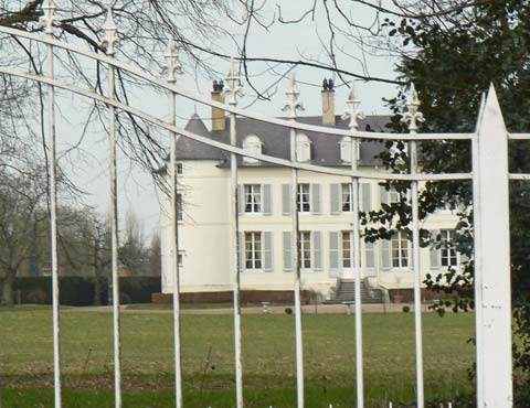 Chateau in the village