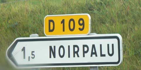 Noirpalu sign manche Normandy