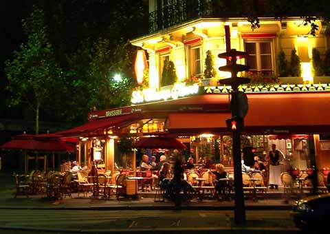 Paris streets at night httpwwwa taste of francecomimages