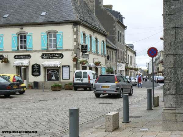 a street in Plouescat