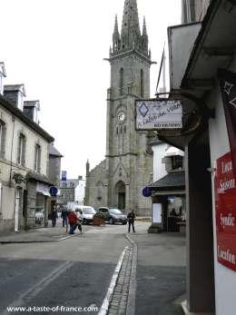 Plouescat church  picture