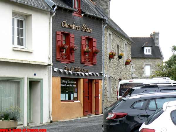 The village of Plouneour-Trez  Brittany