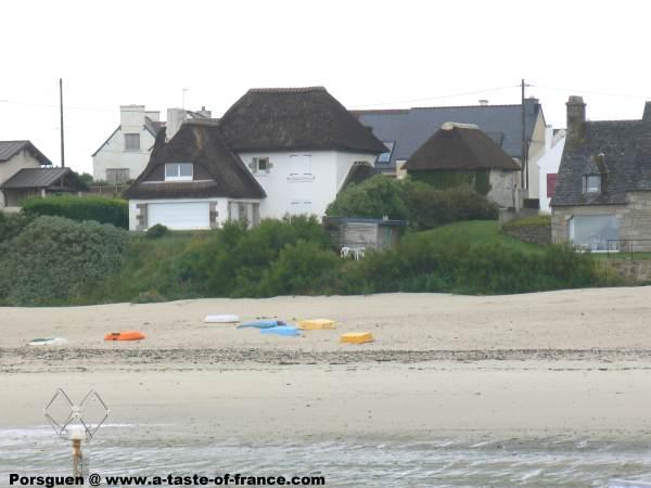 The village of Porsguen  Brittany