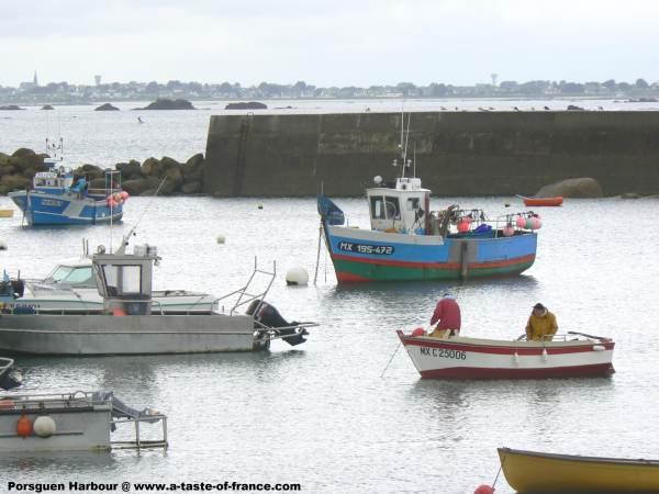 Porsguen  Brittany boats