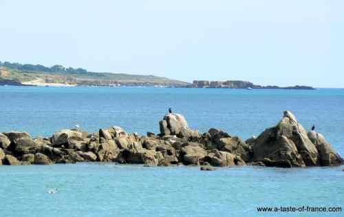 Port-Manech Plage Brittany