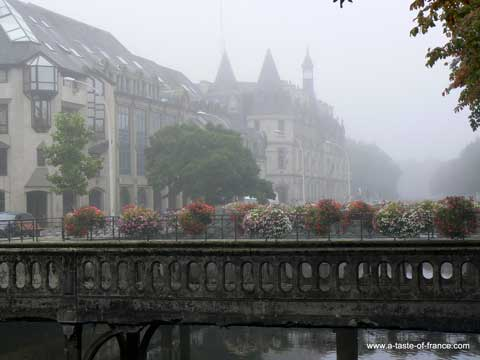 Quimper bridge Brittany